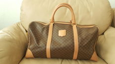Celine - Macadam Pattern Handbag in excellent condition