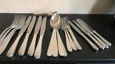 A 4-person Christofle dinner and hors D'oeuvre cutlery section - 24 pieces