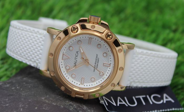 Nautica - Ladies - Rose Gold -  Stainless Steel Watch – New & Mint condition