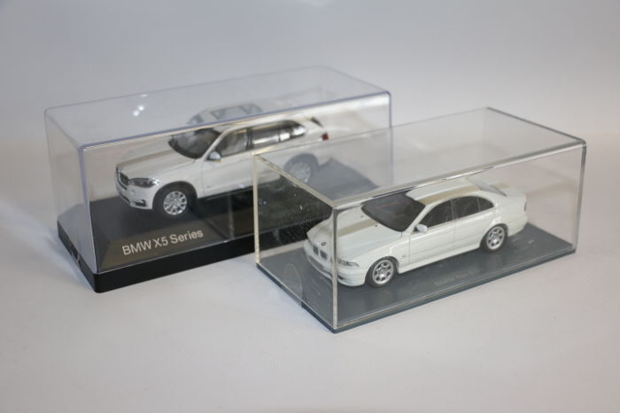 Neo / Paragon - Scale 1/43 - BMW 5er E39 & BMW X5 - White