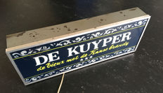 De Kuyper, illuminated advertising on legs