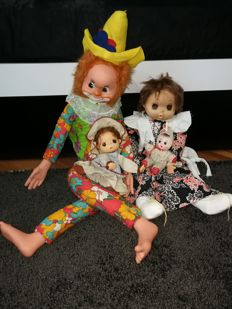 Vintage adorable dolls