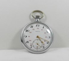 Zenith  Pocket watch Swiss  -  1941-1942  WWII Period