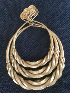 Necklace - minorities from Southwest China, among others: The Miao and the Dong