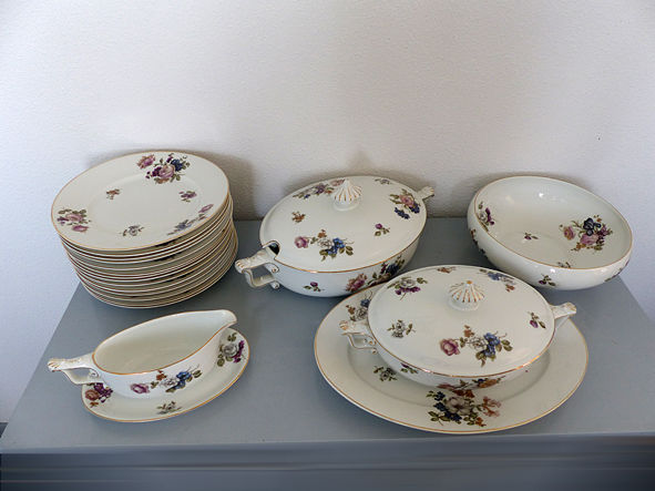 Old, rare Rosenthal tableware set