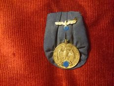 Germany Wehrmacht - Service badge 4th class for the Army and Navy.