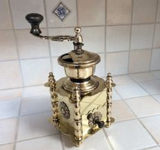 French Copper Coffee Grinder
