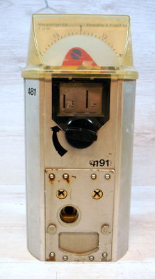 Elverding & Kruijff BV parking meter with coin system, 2nd half of 20th century, Netherlands