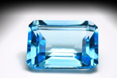 Swiss Blue Topaz – 20.22 ct