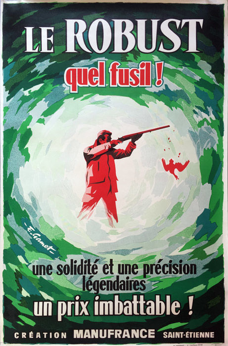 Gamet - Chasse Le Robust quel fusil - 1955 - Catawiki