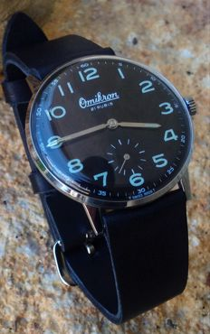 OMIKRON Wehrmachtswerk-Swiss made - Militaire - UT 6376 - Hombre - 1960 - 1969