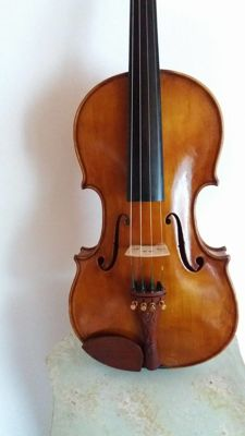 4/4 Beautiful Violin with stamps Mathias Heinicke 1934