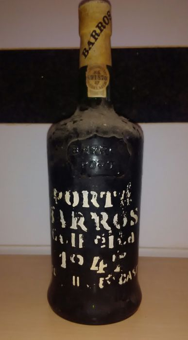 1947 Colheita Port Barros - bottled in 1983