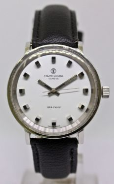 Favre Leuba Sea-Chief Manual Winding Men's Vintage Wrist Watch - circa 1960s