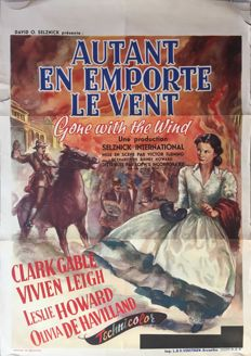Anonymous - Autant en emporte le vent / Gone with the wind (Vivien Leigh, Clark Gable) - 1939