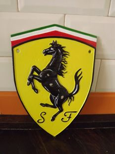 Ferrari,coat of arms, 2000 .