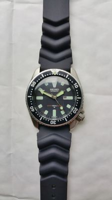 Seiko 4205 Black Vintage Submariner  1980–1999