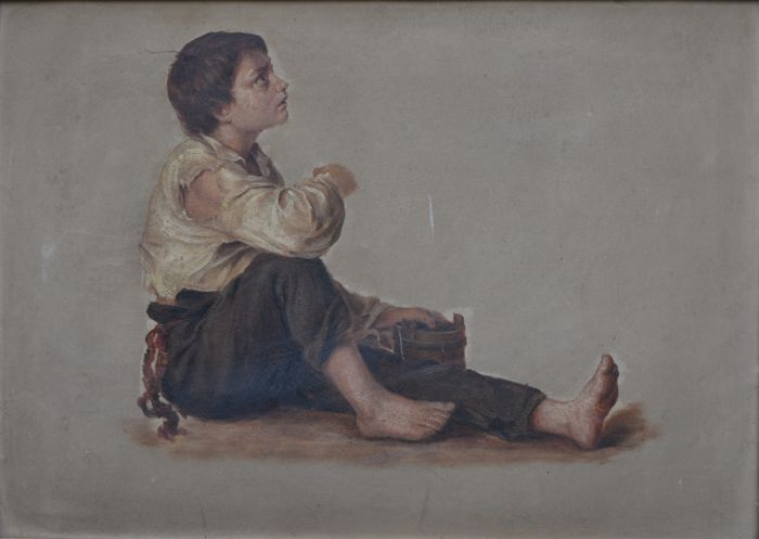 Unknown (19th/20th Century) The Street Urchin