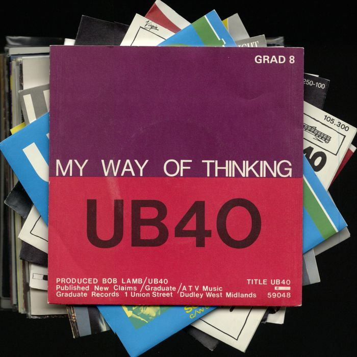 Fantastic UB40 career oversight of 39 original picture sleeve singles !