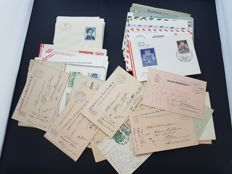 Austria -  lot of 110 items of postal history