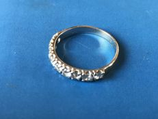 Engagement ring in 18 kt gold - 16.5 mm