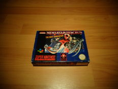 "Snes ""Ninja Warriors The New Generation"" Fully Complete and Extremely Rare"