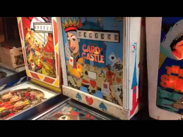 Card King pinball machine