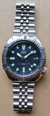 Seiko 7002 Diving watch from the period 1985-1999