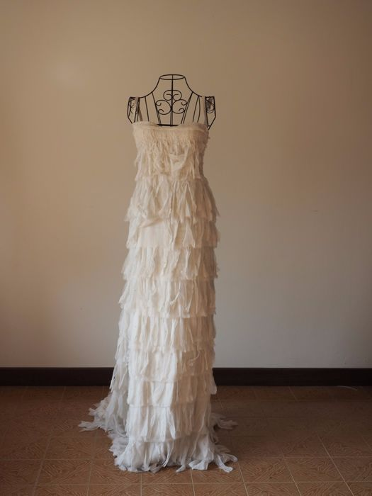 Danilo Fedrighi -- Haute Couture Evening Gown -- Made in Italy -- No ...