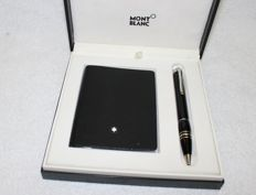 Montblanc Starwalker new old stock Resin ballpoint and notebook set in box - 2010's