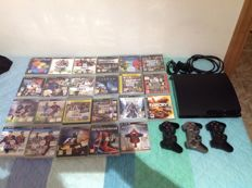 Playstation 3- 120GB  and 23 games