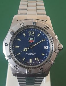 Tag Heuer Professional, Men's Wristwatch