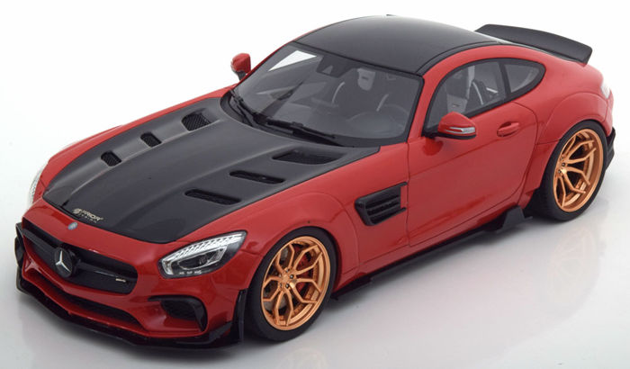 "GT-Spirit - Schaal 1/18 - Mercedes-Benz AMG GT ""Prior Design"""