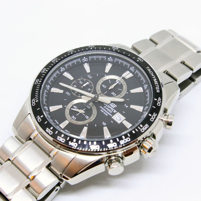 96d0bdd86079 Casio - Edifice WR 100M Chronograph EF-457 2328 - Unisex Watch ...