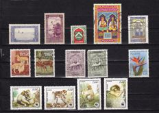 North, West and Middle Africa - Batch wit 1,984 stamps and 15 blocks.