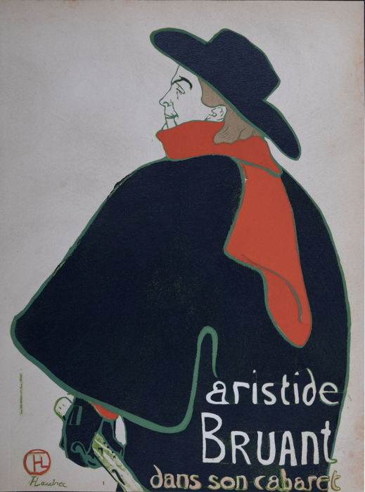 Henri de Toulouse-Lautrec (after) -  Aristide Bruant
