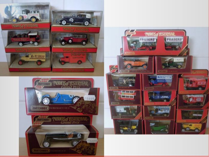 Matchbox Models of yesteryear - Scale 1/43 - Lot with 23 models