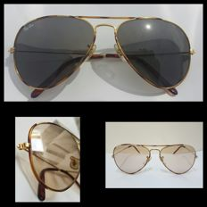 Ray Ban aviator Tortuga  B&L - Lunette de soleil - Unisexe