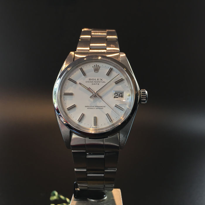 Men's Oyster Date Ref. 1500 Automatic Vintage, 1970's