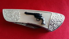 Franklin Mint Collector Knives zakmes colt 1890 bisley model