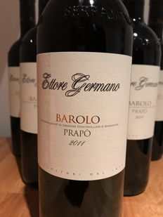 2011 Germano Ettore Barolo Prapo, Barolo - 6 bottles (75cl)