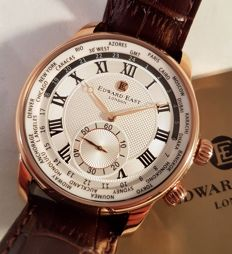 Edward East of London Crown Classic– never worn men's watch – In original box with documentation – 2017