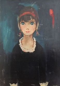 to identify - Portrait of a girl