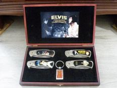 Beautiful Elvis Presley knives collection