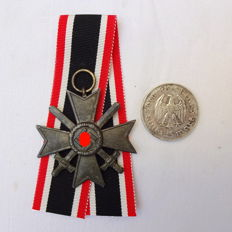 War Merit Cross with Swords 2nd Class with a Coin
