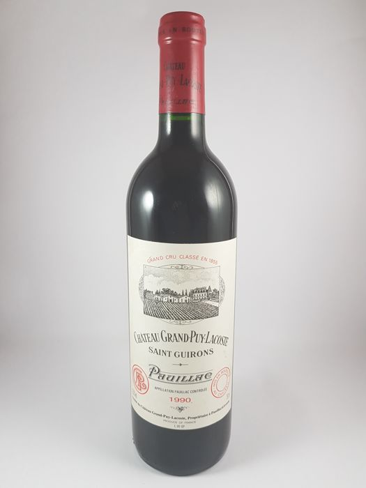 1990 Chateau Grand-Puy-Lacoste, Pauillac Grand Cru Classé, France - 1 bottle