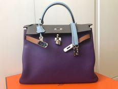 Hermes - Kelly 35 Togo Harlequin - Special Edition - Rare