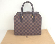 Louis Vuitton - Damier Ebene Triana Hand Bag
