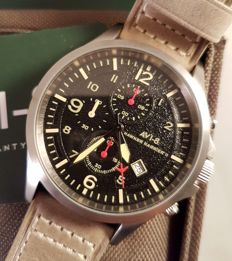 AVI-8 Hawker Harrier II Chronographs – never worn men's watch – in original box with documentation – 2017