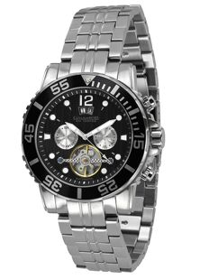 Calvaneo 1583 Sea Command Steel BLACK, Automatic Diver1 0 ATM